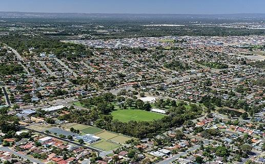 Arial image of wanneroo show ground