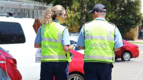 City of Wanneroo Rangers on patrol
