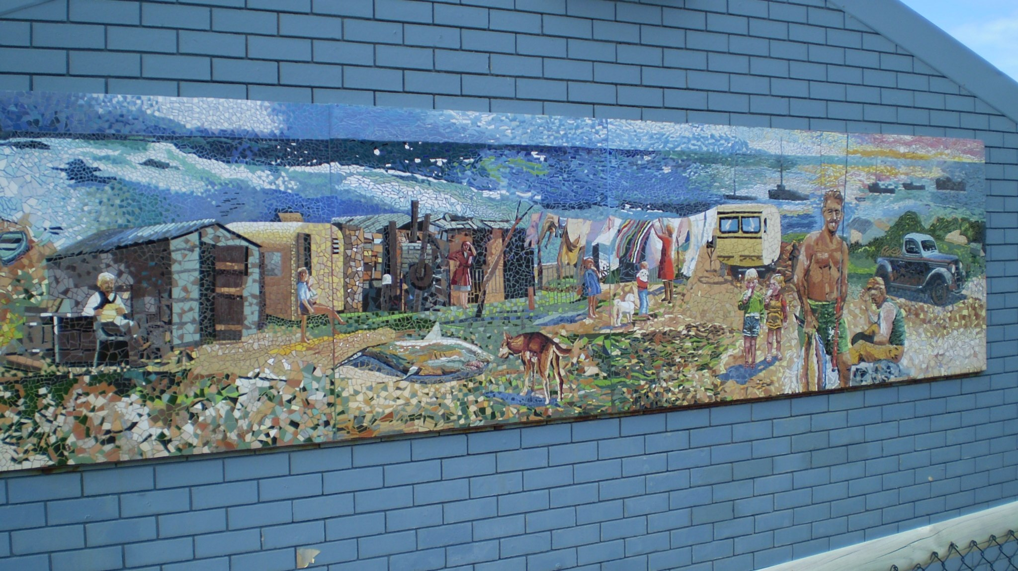 Fishermans hollow mural
