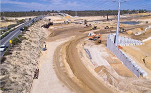 Mitchell freeway works picture