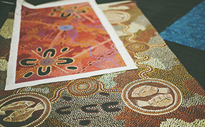 Aboriginal art workshop for kids
