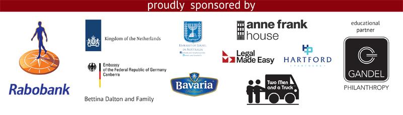 Anne Frank Sponsor Logos