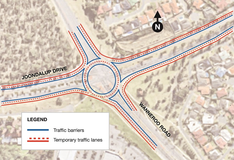 Date Confirmed Wanneroo Road Joondalup Drive Interchange