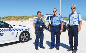 WA Police with City of Wanneroo Ranger