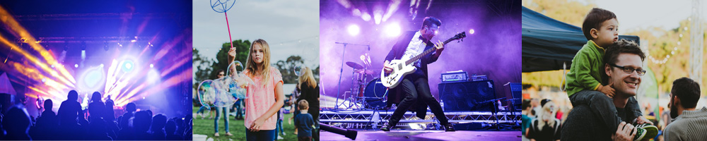 City of Wanneroo Concert Image Strip