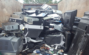 E waste collected