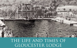 Black and white photo of Gloucester Lodge