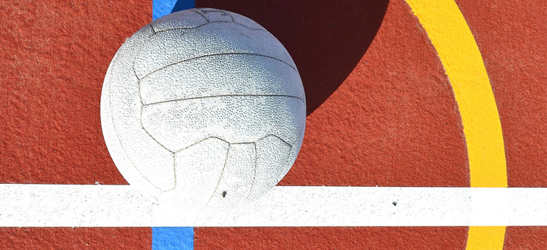 Netball on court
