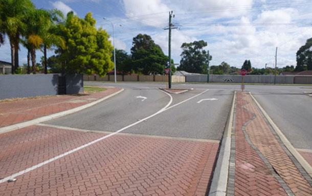 Road surfacing works