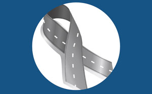 Road Ribbon Safety logo