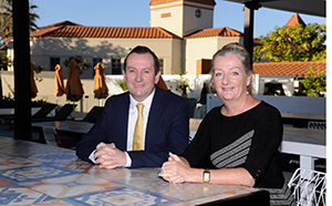 Tracey Roberts and Mark McGowan discuss State Government funding for the Northern Corridor