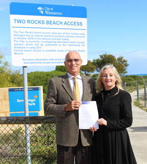 Two rocks beach access funding