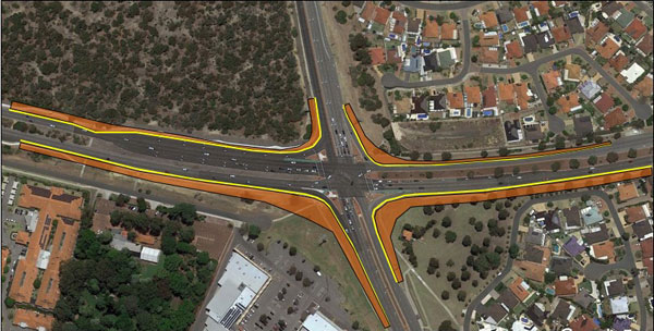 Wanneroo rd joondalup drive map april 2019