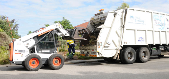 Verge waste collecting