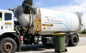 City of Wanneroo waste truck