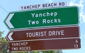 Yanchep Two Rocks signs