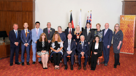 A group shot of the City of Wanneroo council.
