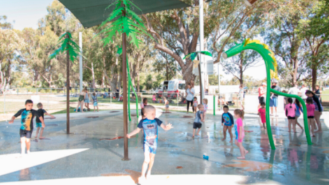 Kingsway Aquatic Play Space opening