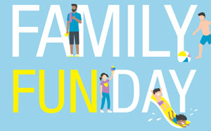 Aquamotion Family Fun Day banner