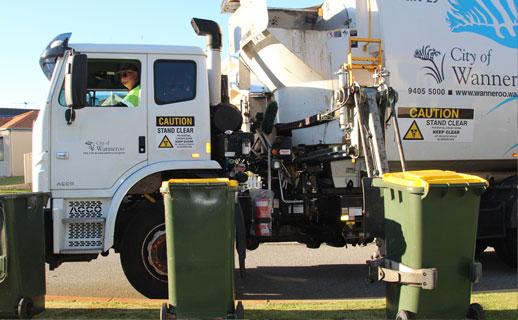 City of Wanneroo waste truck