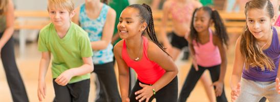 Child's Dance Lesson