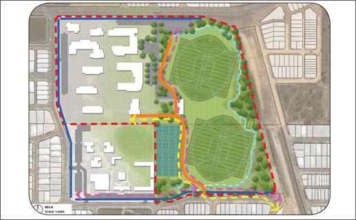 Concept Plan Halesworth Park