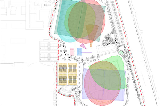 Halesworth Park - Plan