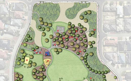 Hinckley Park concept plan