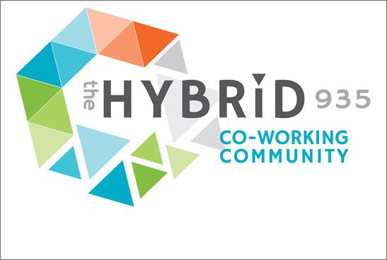 The Hybrid Logo