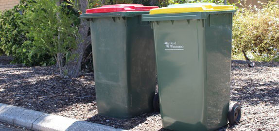 City of Wanneroo bins
