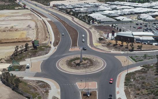 Marmion Avenue Dualling aerial image