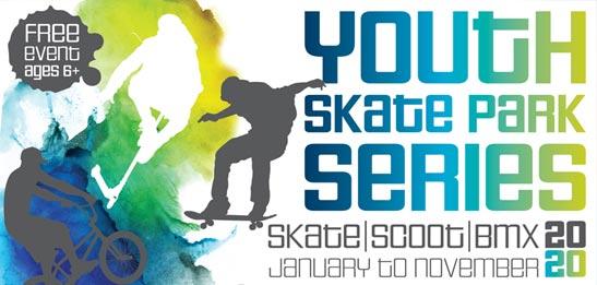 Skate series poster