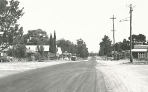 Black and white photo of Wanneroo