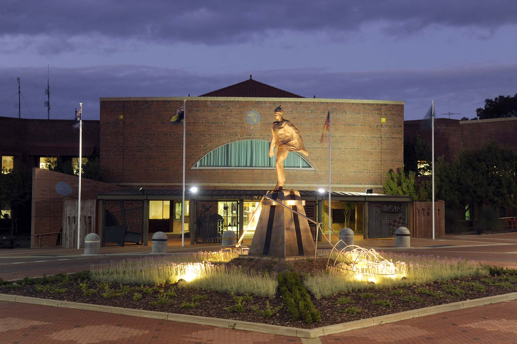 City of Wanneroo Civic Centre - night