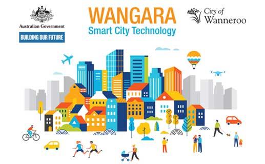 Smart City Wangara infographic