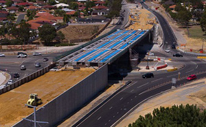 Wanneroo Road and Joondalup Drive interchange