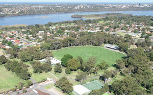 Aerial photo of Wanneroo