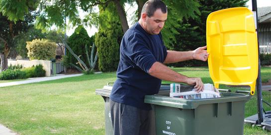 Disposing of waste