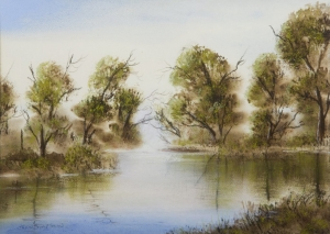 Lake Joondalup 2, Jean Simpson. Acquired 1994, Pastels