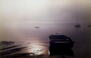 Sunrise on the Lake, Colleen Pozzi. Acquired 1987, Photograph
