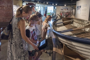 Family visiting Wanneroo Museum